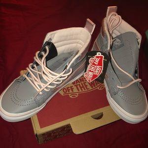 de563868de482 Vans Shoes - Vans Sk8-Hi Mte Metallic   alloy  heavenly pink